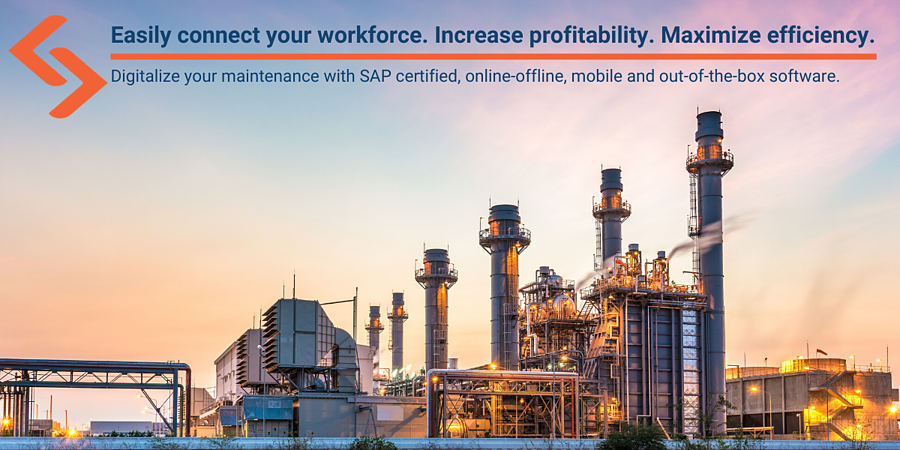 Easily connect your workforce. Increase porfitability. Maximize efficiency. (1)