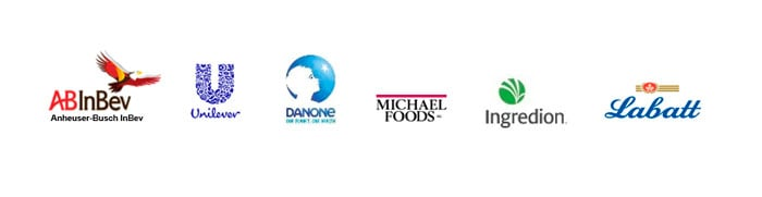 line-up-of-logos-from-our-food-and-beverage-Mobile-EAM-customers